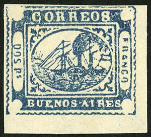 Lot 7 - Argentina buenos aires -  Guillermo Jalil - Philatino Auction # 2038 ARGENTINA: General auction with very low starts!