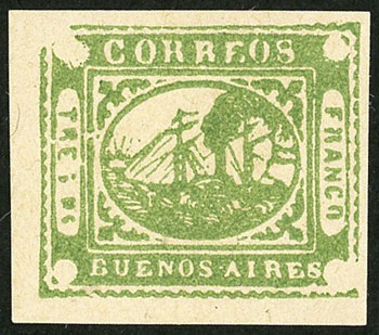 Lot 8 - Argentina buenos aires -  Guillermo Jalil - Philatino Auction # 2038 ARGENTINA: General auction with very low starts!