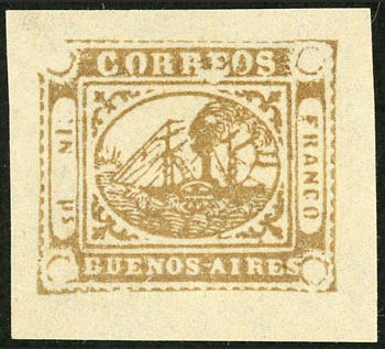 Lot 9 - Argentina buenos aires -  Guillermo Jalil - Philatino Auction # 2038 ARGENTINA: General auction with very low starts!
