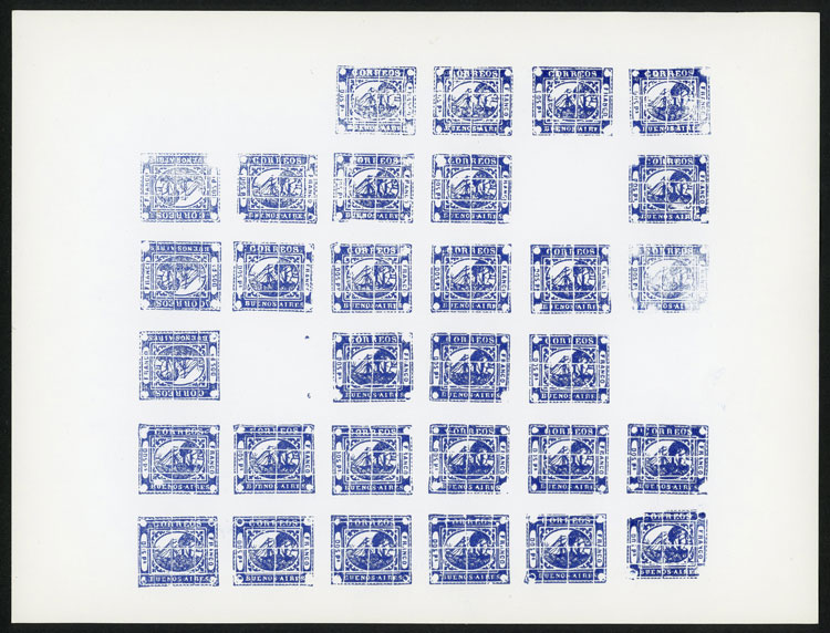 Lot 5 - Argentina buenos aires -  Guillermo Jalil - Philatino Auction # 2038 ARGENTINA: General auction with very low starts!