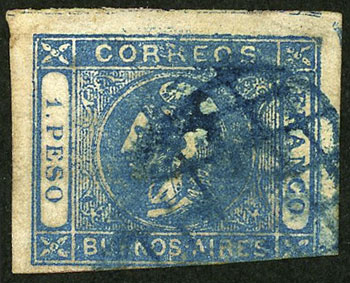Lot 10 - Argentina buenos aires -  Guillermo Jalil - Philatino Auction # 2038 ARGENTINA: General auction with very low starts!