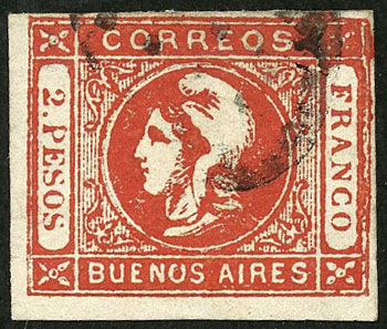 Lot 11 - Argentina buenos aires -  Guillermo Jalil - Philatino Auction # 2038 ARGENTINA: General auction with very low starts!