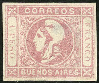 Lot 12 - Argentina buenos aires -  Guillermo Jalil - Philatino Auction # 2038 ARGENTINA: General auction with very low starts!