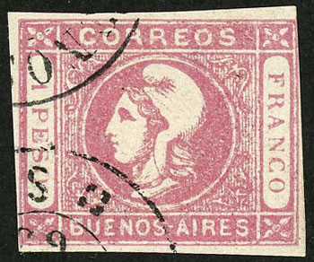Lot 13 - Argentina buenos aires -  Guillermo Jalil - Philatino Auction # 2038 ARGENTINA: General auction with very low starts!