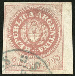 Lot 23 - Argentina escuditos -  Guillermo Jalil - Philatino Auction # 2038 ARGENTINA: General auction with very low starts!
