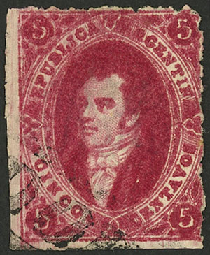 Lot 51 - Argentina rivadavias -  Guillermo Jalil - Philatino Auction # 2038 ARGENTINA: General auction with very low starts!