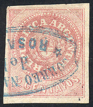 Lot 22 - Argentina escuditos -  Guillermo Jalil - Philatino Auction # 2038 ARGENTINA: General auction with very low starts!