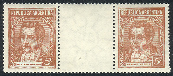 Lot 220 - Argentina general issues -  Guillermo Jalil - Philatino Auction # 2039 WORLDWIDE + ARGENTINA: General September auction