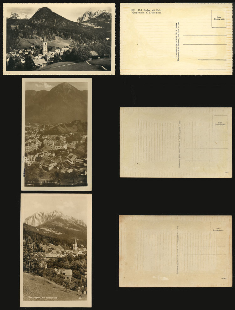 Lot 373 - Austria postcards -  Guillermo Jalil - Philatino Auction # 2039 WORLDWIDE + ARGENTINA: General September auction
