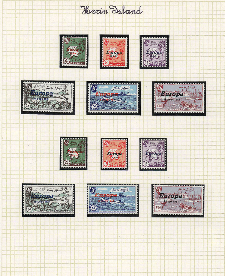 Lot 5 - topic europa Lots and Collections -  Guillermo Jalil - Philatino Auction # 2039 WORLDWIDE + ARGENTINA: General September auction
