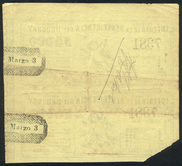 Lot 1419 - Uruguay other items -  Guillermo Jalil - Philatino Auction # 2039 WORLDWIDE + ARGENTINA: General September auction