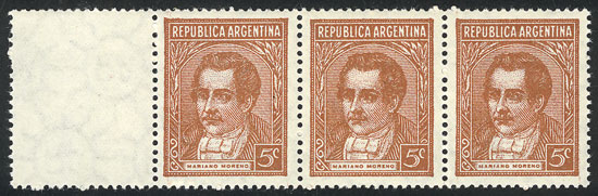 Lot 716 - Argentina general issues -  Guillermo Jalil - Philatino Auction # 2040 ARGENTINA: