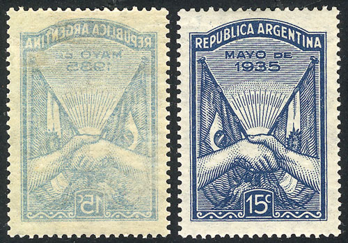 Lot 608 - Argentina general issues -  Guillermo Jalil - Philatino Auction # 2040 ARGENTINA: