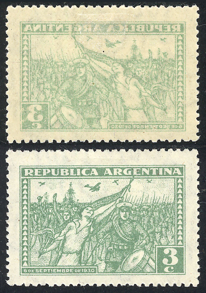 Lot 585 - Argentina general issues -  Guillermo Jalil - Philatino Auction # 2040 ARGENTINA: