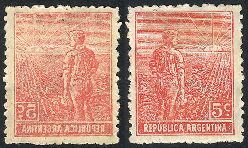 Lot 461 - Argentina general issues -  Guillermo Jalil - Philatino Auction # 2040 ARGENTINA:
