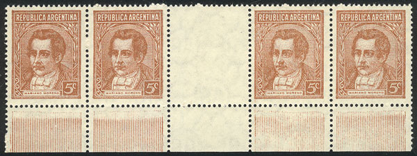 Lot 717 - Argentina general issues -  Guillermo Jalil - Philatino Auction # 2040 ARGENTINA: