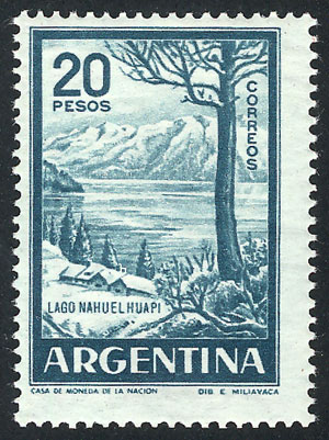 Lot 1055 - Argentina general issues -  Guillermo Jalil - Philatino Auction # 2040 ARGENTINA: