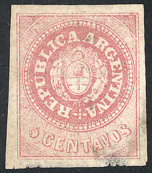 Lot 115 - Argentina escuditos -  Guillermo Jalil - Philatino Auction # 2040 ARGENTINA: