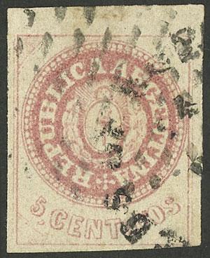 Lot 142 - Argentina escuditos -  Guillermo Jalil - Philatino Auction # 2040 ARGENTINA: