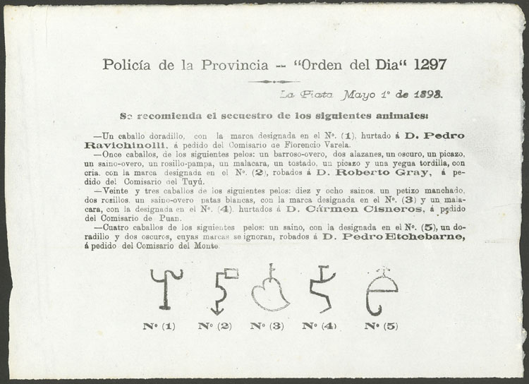 Lot 2145 - Argentina other items -  Guillermo Jalil - Philatino Auction # 2040 ARGENTINA: