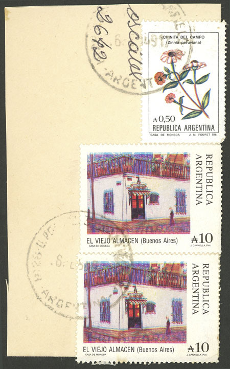Lot 1354 - Argentina general issues -  Guillermo Jalil - Philatino Auction # 2040 ARGENTINA: