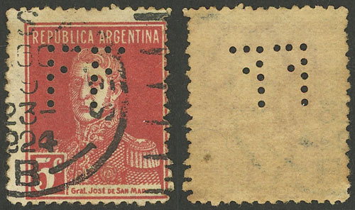 Lot 552 - Argentina general issues -  Guillermo Jalil - Philatino Auction # 2040 ARGENTINA: