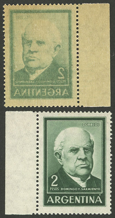 Lot 1029 - Argentina general issues -  Guillermo Jalil - Philatino Auction # 2040 ARGENTINA: