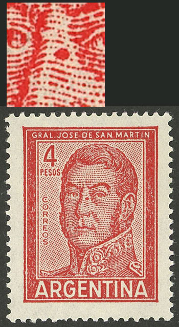 Lot 1040 - Argentina general issues -  Guillermo Jalil - Philatino Auction # 2040 ARGENTINA: