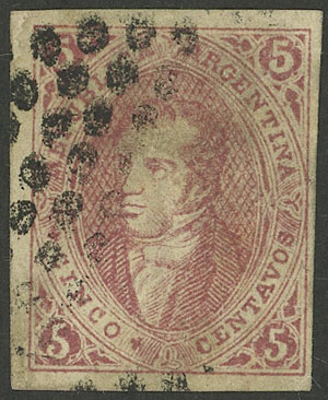 Lot 233 - Argentina rivadavias -  Guillermo Jalil - Philatino Auction # 2040 ARGENTINA: