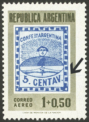Lot 993 - Argentina general issues -  Guillermo Jalil - Philatino Auction # 2040 ARGENTINA: