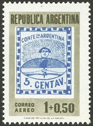 Lot 992 - Argentina general issues -  Guillermo Jalil - Philatino Auction # 2040 ARGENTINA: