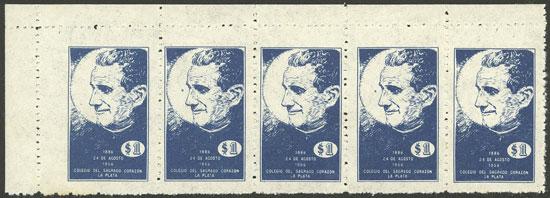 Lot 2156 - Argentina cinderellas -  Guillermo Jalil - Philatino Auction # 2040 ARGENTINA:
