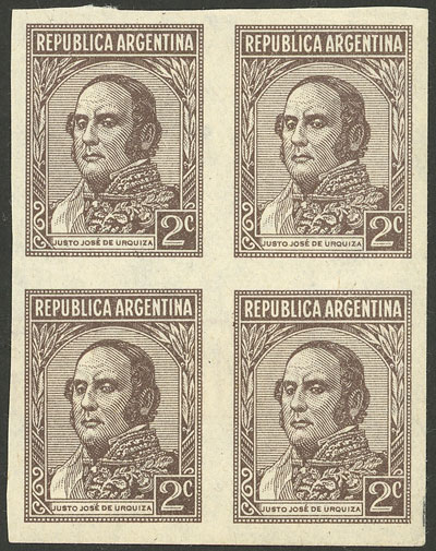 Lot 619 - Argentina general issues -  Guillermo Jalil - Philatino Auction # 2040 ARGENTINA: