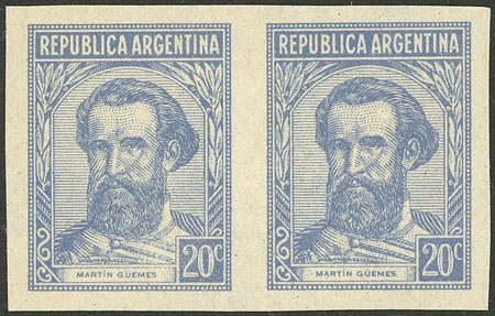 Lot 640 - Argentina general issues -  Guillermo Jalil - Philatino Auction # 2040 ARGENTINA: