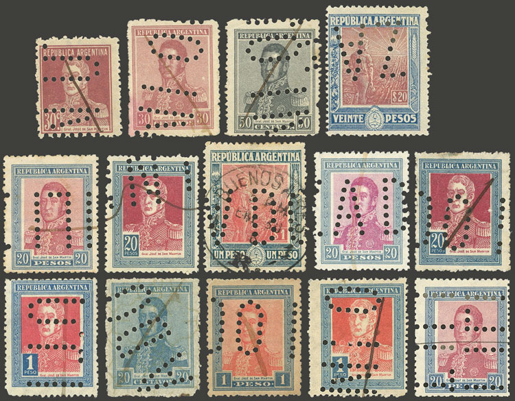 Lot 2100 - Argentina Lots and Collections -  Guillermo Jalil - Philatino Auction # 2040 ARGENTINA:
