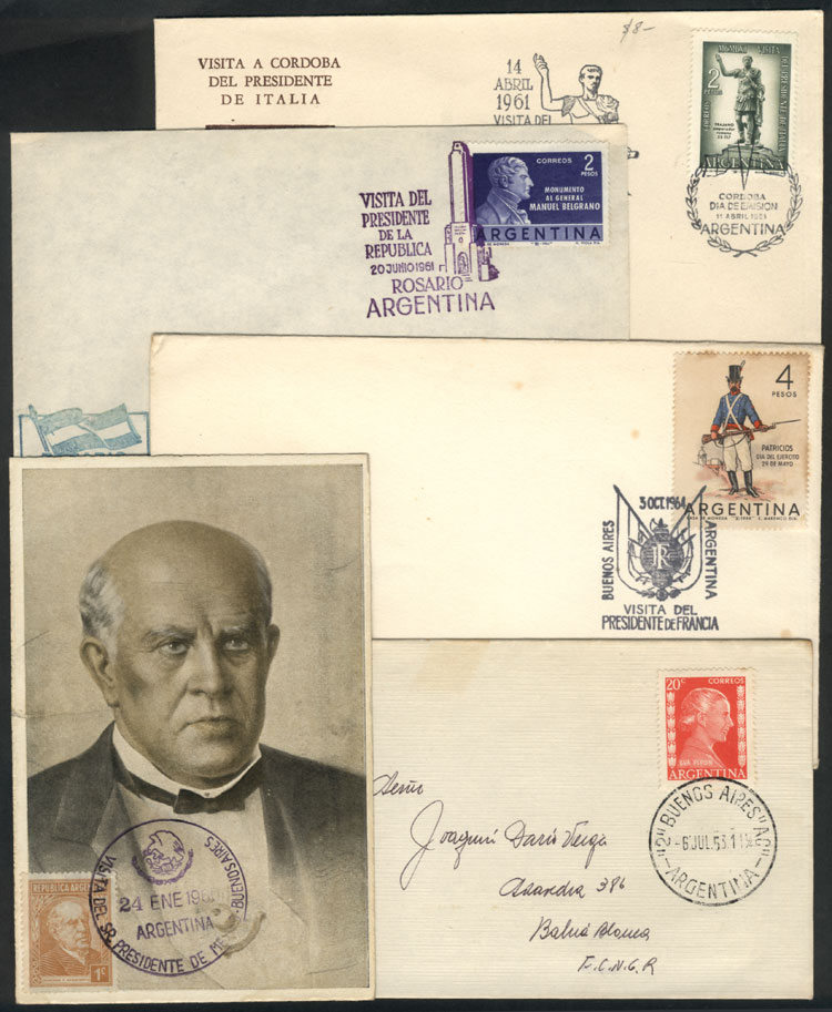 Lot 2027 - Argentina postal history -  Guillermo Jalil - Philatino Auction # 2040 ARGENTINA: