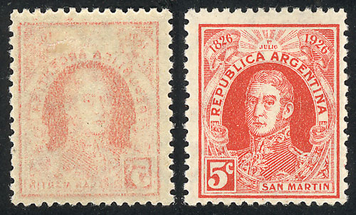 Lot 569 - Argentina general issues -  Guillermo Jalil - Philatino Auction # 2040 ARGENTINA: