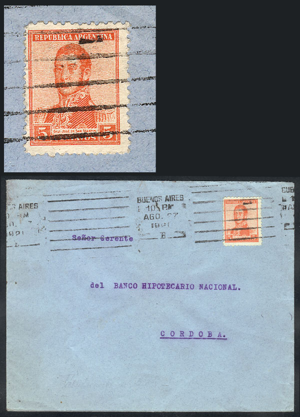 Lot 1415 - Argentina postal history -  Guillermo Jalil - Philatino Auction # 2041 ARGENTINA: general auction with very low starts!