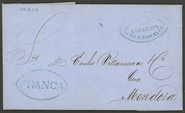 Lot 1318 - Argentina prephilately -  Guillermo Jalil - Philatino Auction # 2041 ARGENTINA: general auction with very low starts!