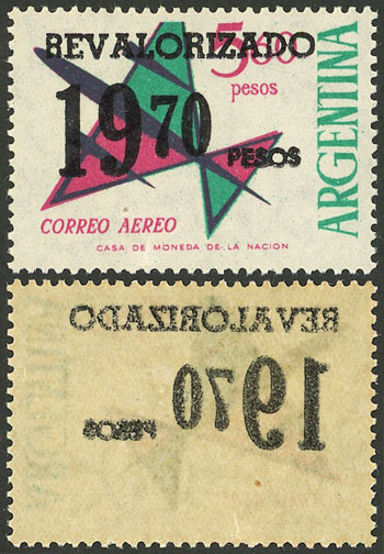 Lot 1016 - Argentina general issues -  Guillermo Jalil - Philatino Auction # 2041 ARGENTINA: general auction with very low starts!