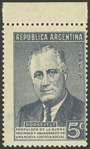 Lot 738 - Argentina general issues -  Guillermo Jalil - Philatino Auction # 2041 ARGENTINA: general auction with very low starts!