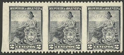 Lot 282 - Argentina general issues -  Guillermo Jalil - Philatino Auction # 2041 ARGENTINA: general auction with very low starts!