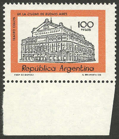 Lot 1064 - Argentina general issues -  Guillermo Jalil - Philatino Auction # 2041 ARGENTINA: general auction with very low starts!