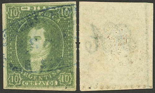 Lot 40 - Argentina rivadavias -  Guillermo Jalil - Philatino Auction # 2041 ARGENTINA: general auction with very low starts!