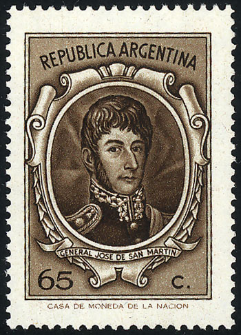 Lot 1005 - Argentina general issues -  Guillermo Jalil - Philatino Auction # 2041 ARGENTINA: general auction with very low starts!