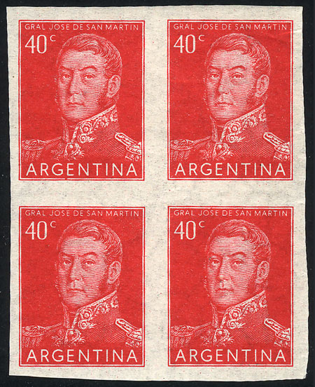 Lot 802 - Argentina general issues -  Guillermo Jalil - Philatino Auction # 2041 ARGENTINA: general auction with very low starts!