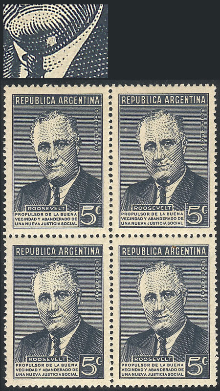 Lot 528 - Argentina general issues -  Guillermo Jalil - Philatino Auction # 2043 ARGENTINA: small but very attractive auction