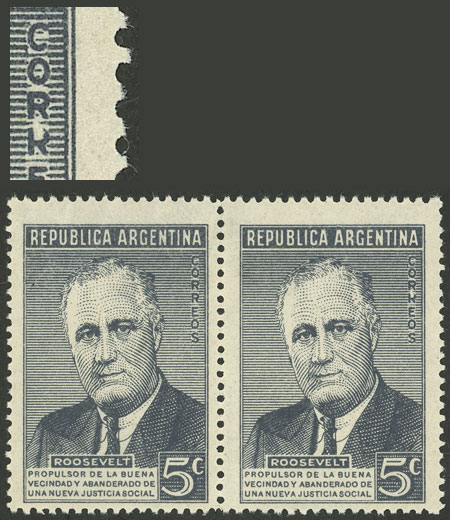 Lot 530 - Argentina general issues -  Guillermo Jalil - Philatino Auction # 2043 ARGENTINA: small but very attractive auction