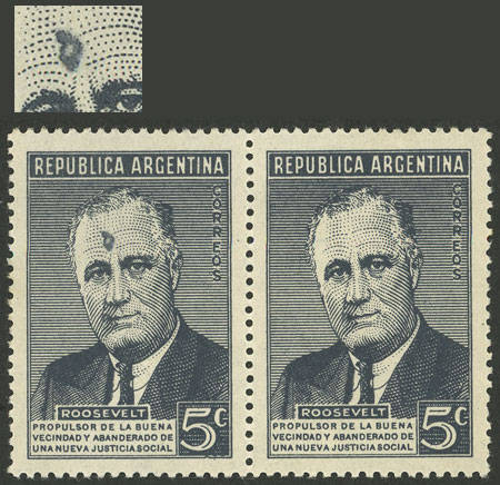 Lot 529 - Argentina general issues -  Guillermo Jalil - Philatino Auction # 2043 ARGENTINA: small but very attractive auction