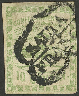 Lot 6 - Argentina confederation -  Guillermo Jalil - Philatino Auction # 2043 ARGENTINA: small but very attractive auction